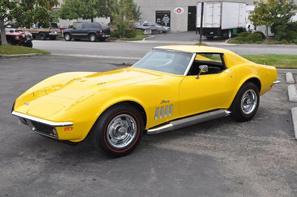 1969 Corvette with L89