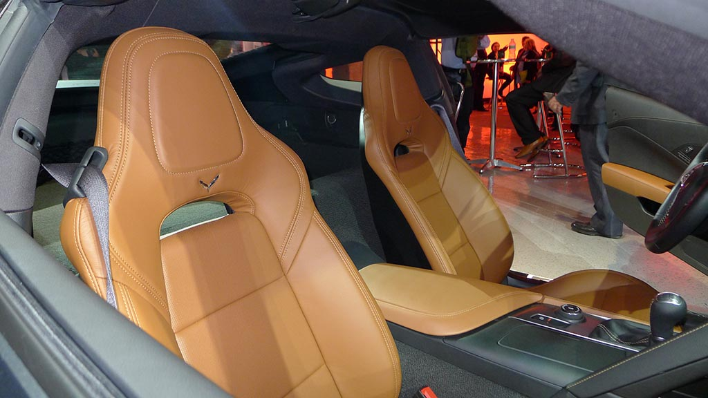 the seating options in the 2014 corvette stingray corvette sales