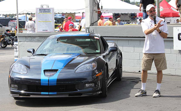 Corvette Museum to Raffle Kirk Bennion's 2013 Night Race Blue Corvette ZR1 on Thursday