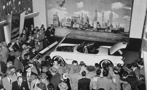 Corvette Enters the World Stage 60 Years Ago Today