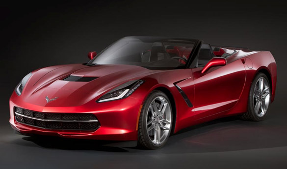 Is this the 2014 Corvette Stingray Convertible?