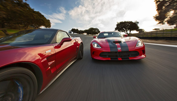 [VIDEO] MotorTend Head 2 Head: SRT Viper GTS vs Chevrolet Corvette ZR1