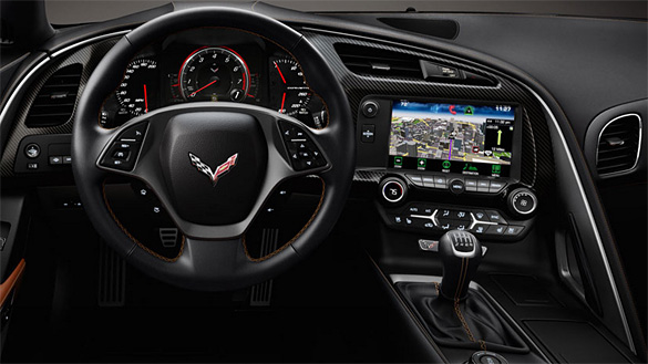[VIDEO] The Retractable Hi-Def Screen Inside the 2014 Corvette Stingray
