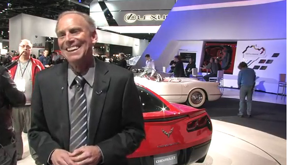 [VIDEO] Interview with Corvette Chief Engineer Tadge Juechter at the 2013 NAIAS