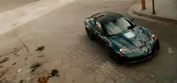 [VIDEO] Corvette ZR1 the Real Star of Schwarzenegger's The Last Stand