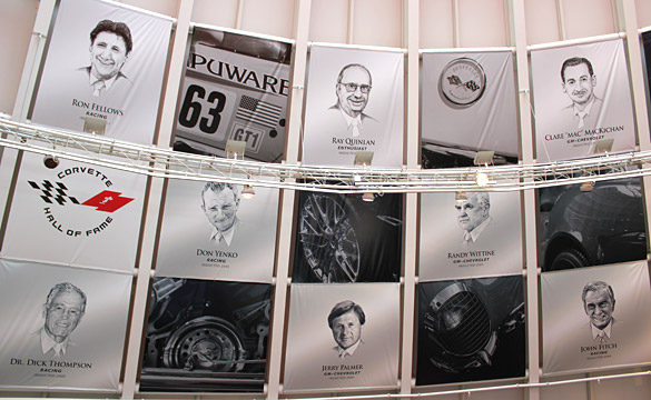 National Corvette Museum Announces 2013 Hall of Fame Inductees