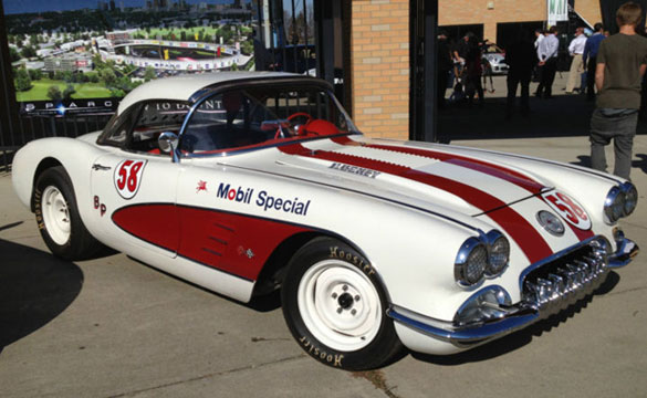 Corvettes on eBay: 1958 Corvette SVRA Vintage Racecar