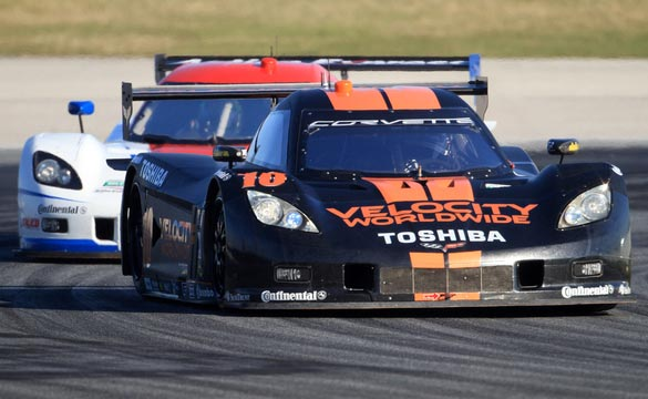 GRAND-AM: Corvette DP Earns First Podium Finish at Daytona 24