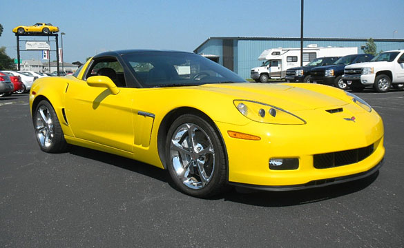 Corvette Thieves Stymied by 6-Speed Manual Transmission