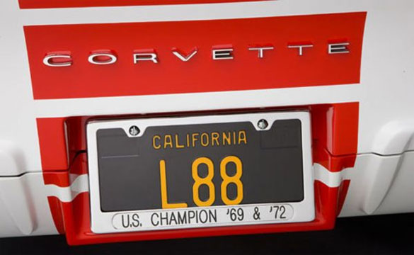 GM Granted Trademark Aprroval for the Legendary Corvette Engine RPO Code L88