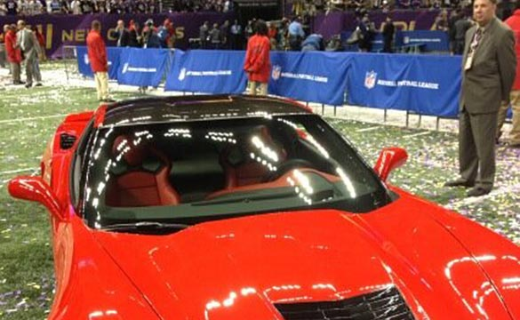 [PIC] Joe Flacco Named Super Bowl MVP and Wins a 2014 Corvette Stingray