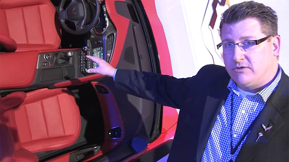 [VIDEO] Interview with Craig Sass - Interior Design Manager of the C7 Corvette