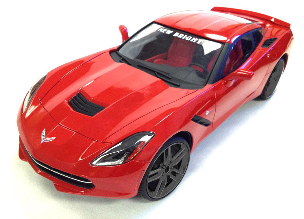 Corvette Bedroom Set Part - 49: New Brightu0027s 1:8 Scale Radio Controlled 2014 Corvette Stingray ...