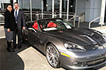 Top Gun Air Force Pilot Buys a 2013 Corvette 427 Convertible
