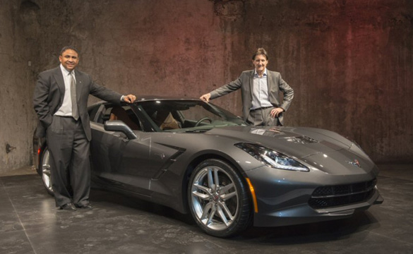The 2014 Corvette Stingray Makes Its Debut in Canada