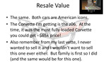 Man Creates Slideshow to Convince Wife to Buy a Corvette Z06