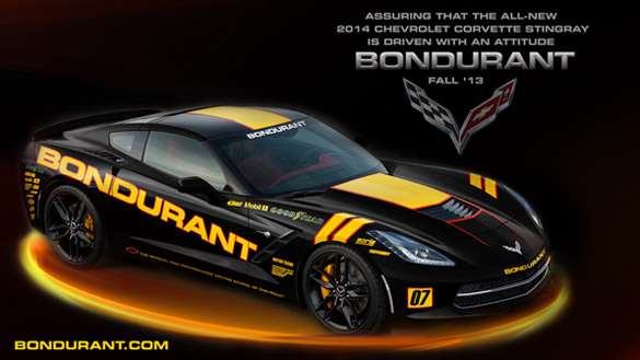 [Wallpaper] Imagine the 2014 Corvette Stingray in Bondurant Livery