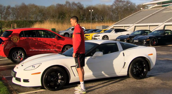 Manchester United Players Get the Keys to their New Chevrolets