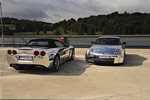 Lithuanian C6 Corvette Goes Full Disco with Chrome Wrap