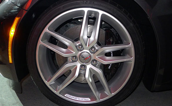 SANLUIS Rassini Two-Piece Brake Rotor Chosen for 2014 Corvette Stingray