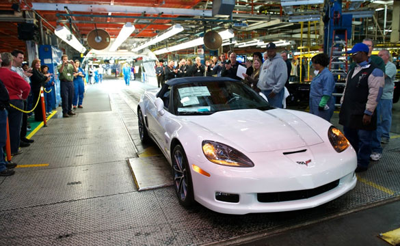 End of an Era: The Last C6 Corvette Rolls Off the Produc