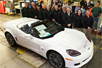 The Last C6 Corvette Rolls Off the Production Line in Bowling Green