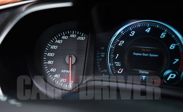 Car and Driver: Supercharger Boost Gauge Spotted During C7 ...