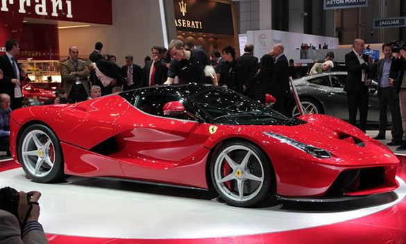 New 968 HP Ferrari Unveiled at Geneva – Corvette Better Get Busy!