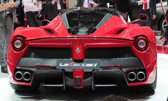 New 968 HP Ferrari Unveiled at Geneva – Corvette Better Get Busy!