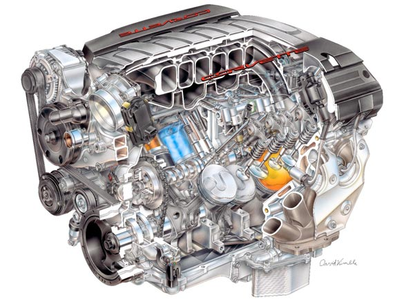 Corvette Engine Illustrator David Kimble Releases New History of Corvette Racing Book
