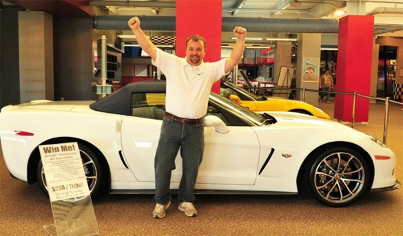 Bowling Green Resident Wins a 2013 60th Anniversary Corvette 427 Convertible at the NCM