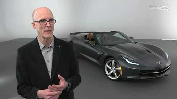 [VIDEO] Edmunds and GM's Tom Peters Talk About the 2014 Stingray Convertible
