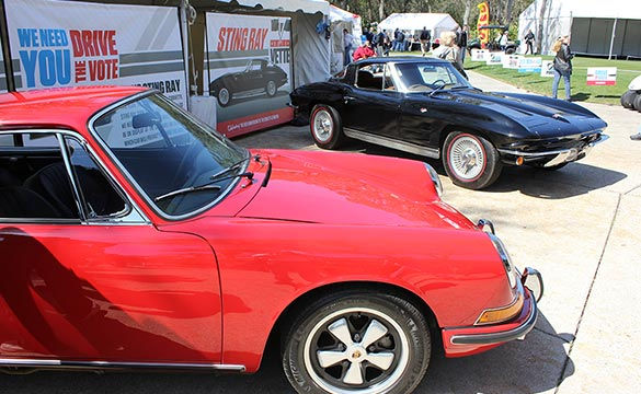 Corvette Edges Porsche on Amelia Island Enthusiast Ballot