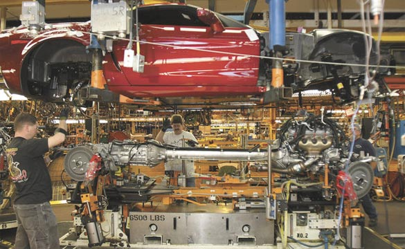 Kentucky OK's Tax Incentives for the Corvette Assembly Plant