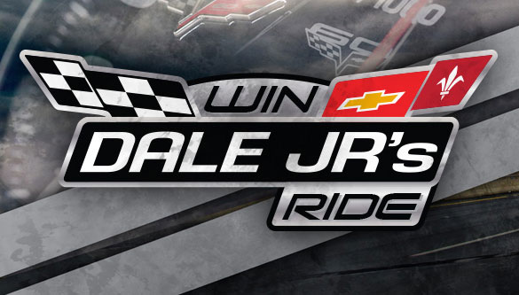 [VIDEO] Win Dale JR's Ride: A 2013 Corvette Grand Sport Coupe