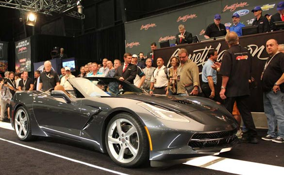[PICS] First Retail 2014 Corvette Stingray Convertible Sells at Barrett-Jackson Palm Beach for