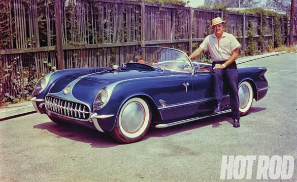 A Look Back at Hot Rod Photographer E. Rick Mann's 1954 Corvette