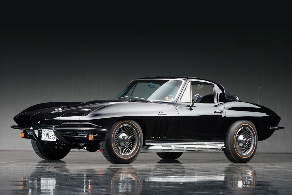 Corvette auction preview the don davis collection at rm for 1963 split window corvette 427