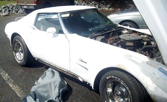 Sentimental 1975 Corvette Being Restored for Daughter