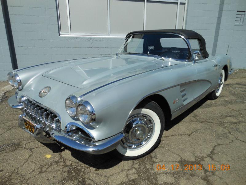 Corvettes on eBay: 1960 Corvette One-Owner Survivor - Corvette ...