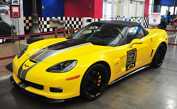 Corvette Museum to Raffle the 2013 Andy Pilgrim Tribute 427 Convertible on Friday