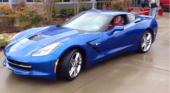 VIDEO] The 2014 Corvette Stingrays Leave the National Corvette Museum