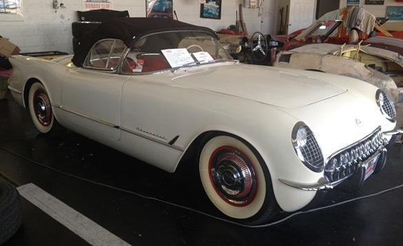 Corvettes on eBay: 1953 Survivor Corvette