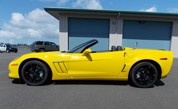 Corvettes on eBay: Drug Dealer's Seized 2013 Corvette Grand Sport