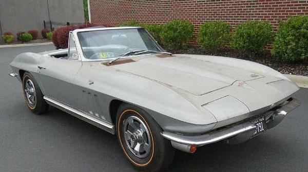 Barn Find 1966 Survivor Corvette For Sale On Ebay Corvette Sales
