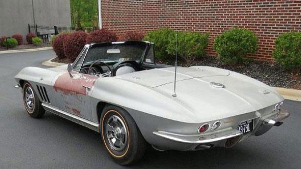Barn Find 1966 Survivor Corvette For Sale On Ebay Corvette Sales News Lifestyle