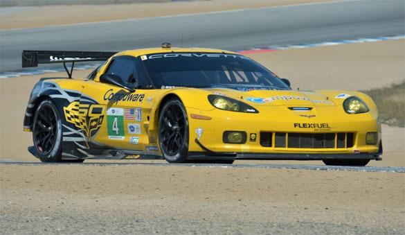 Corvette Racing Qualifies 4th and 5th at ALMS Laguna Seca