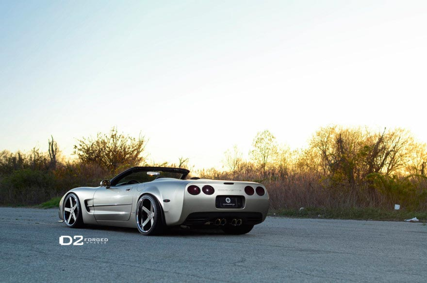 Pics C5 Corvette Convertible Widebody On D2forged Cv2