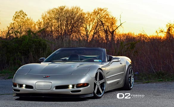 C5 Convertible Widebody On D2forged Cv2 Colormatched