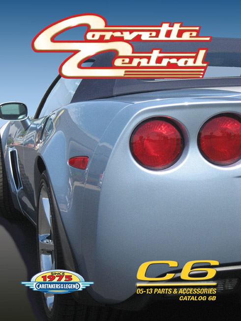 Corvette Central Releases New Catalog for 2005-2013 Corvettes